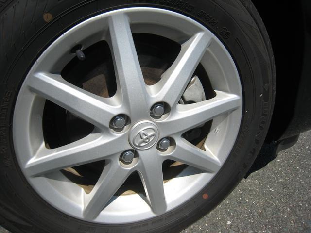 純正追加オプションのアルミホイール!ダンロップのタイヤ残り溝充分!