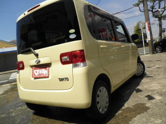 ダイハツ タント Xリミテッド 電動スライドドア バッテリー新品 車検2年付
