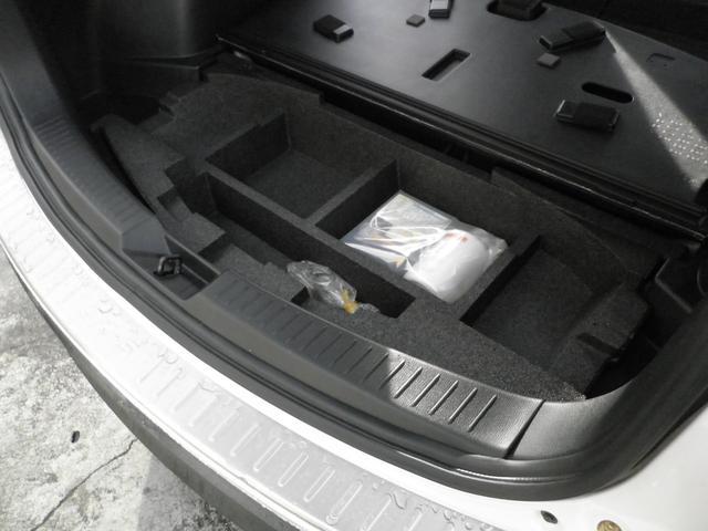 トランクアンダートレイも便利に使えます!