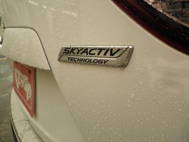 ☆スカイアクティブエンブレムが輝いてます☆燃費JC08モード16.4KM☆