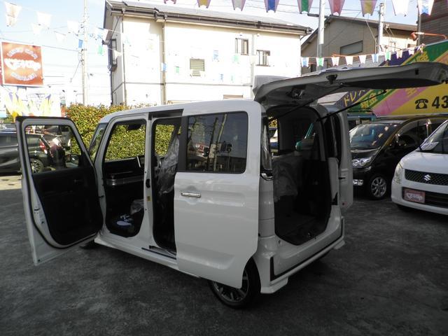 ハイブリッドXSターボ 展示試乗車 両側自動ドア ナビTV(56枚目)