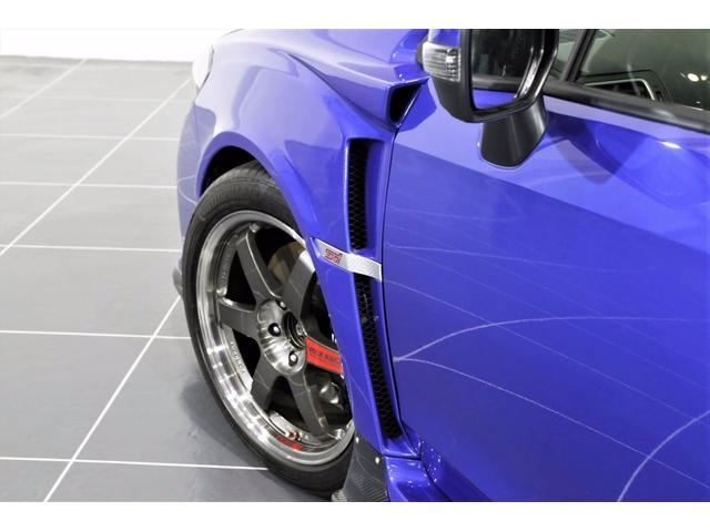 スバル WRX STI STI タイプS VARISエアロ RAYS18AW 車高調