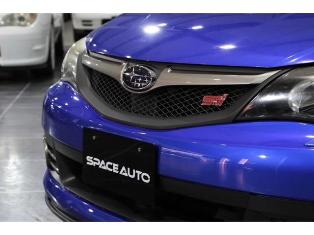 スバル インプレッサ WRX STI 20thアニバーサリー 特別仕様 純正レカロ
