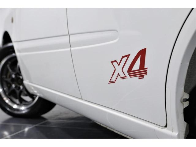 ダイハツ ストーリア X4 限定車 713cc 4WDターボ クロスMT
