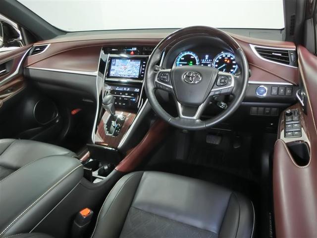 プレミアム ハイブリッド ワンオーナー 4WD 電動シート 安全装備 横滑り防止機能 ABS エアバッグ オートクルーズコントロール 盗難防止装置 バックカメラ ETC ミュージックプレイヤー接続可 CD(3枚目)