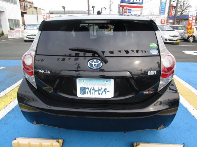 トヨタ アクア G 地デジナビ ETC バックモニタ シートヒータ 禁煙車