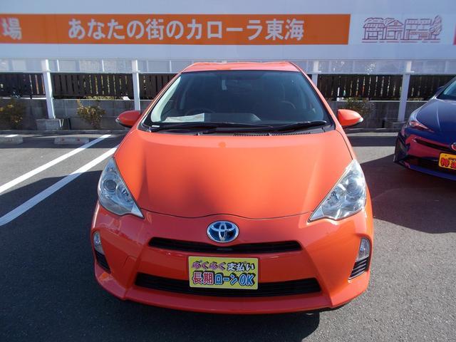 トヨタ アクア G 地デジナビ ETC バックモニタ ワンオーナ 禁煙車