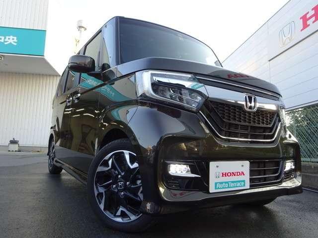 ホンダ N BOXカスタム G・EXターボホンダセンシング 助手席スーパースライドNAVIテ