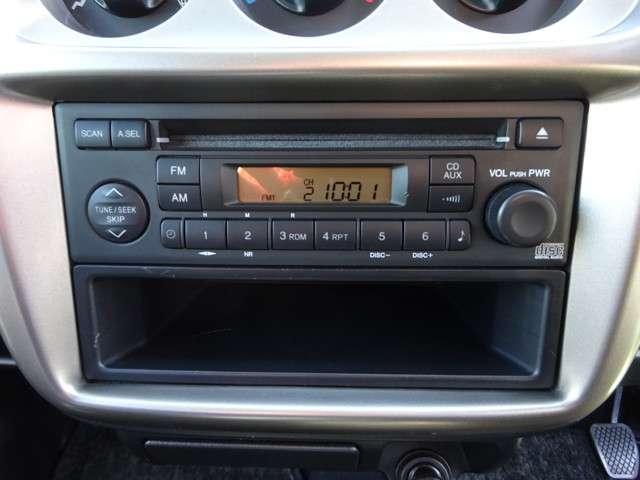 CD,ラジオ付で快適です!