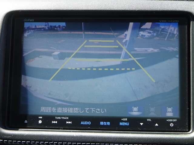 バックモニター搭載で車庫入れ安心!バック中の死角部分がモニターに映し出されるので安全性アップ!!