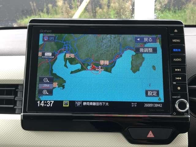 Lホンダセンシング 8インチNAVI Bluetooh ドラレコ USB フルセグ ETC クルコン LED クリアランスソナー シートヒーター 禁煙車 ワンオーナー スマートキー アイドリングストップ 盗難防止装置(12枚目)