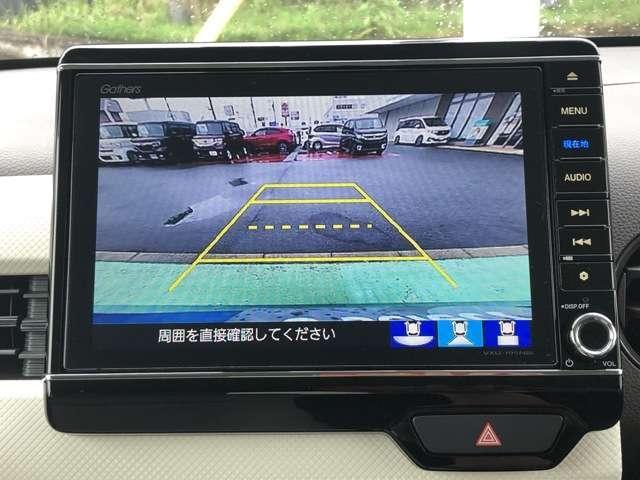 Lホンダセンシング 8インチNAVI Bluetooh ドラレコ USB フルセグ ETC クルコン LED クリアランスソナー シートヒーター 禁煙車 ワンオーナー スマートキー アイドリングストップ 盗難防止装置(14枚目)