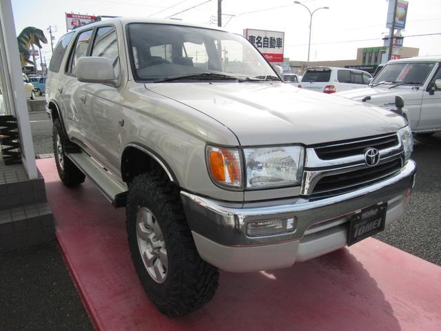 トヨタ ハイラックスサーフ SSR-Xナロー リフトUP 背面レス ナビTV 4WD