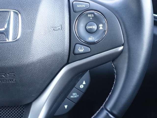 安全運転支援システム『HondaSENSING』搭載!!衝突軽減ブレーキや前走車との車間距離を保つACC(アダプティブクルーズコントロール)、ステアリング操作をアシストするLKAS機能など装備されてい