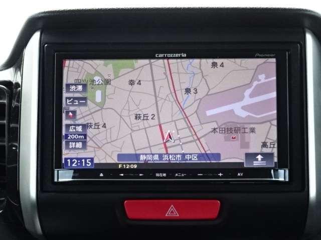 カロッツェリアメモリーナビ《AVIC-MRZ07》が装備されています!ワンセグTVが観られます!
