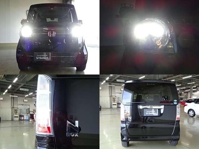 ヘッドライトはHIDが装備されています!通常のハロゲンライトより高光度で省電力!夜道を明るく照らしてくれますよ!