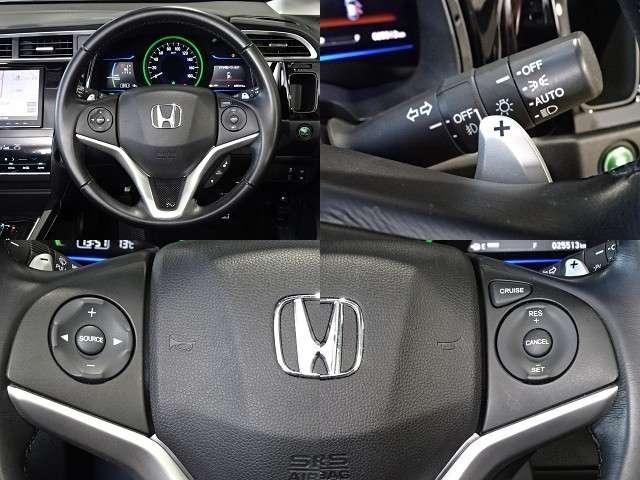 クルーズコントロールが装備されています!速度設定をすると一定速度で自動走行が可能です!一定速度での走行なので、燃費の向上やアクセルペダルを踏み込む必要がないので、長距離ドライブに最適です!