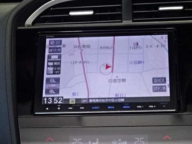 ギャザズメモリーナビ《VXM-165VFEi》が装備されています!フルセグTVが観られます!