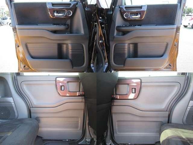 運転席と助手席のドアポケットにはドリンクホルダーが装備されています!