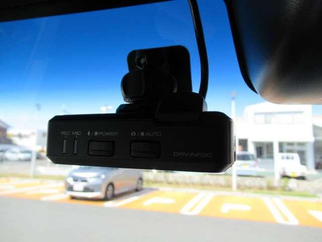 ドライブレコーダーが装備されています!