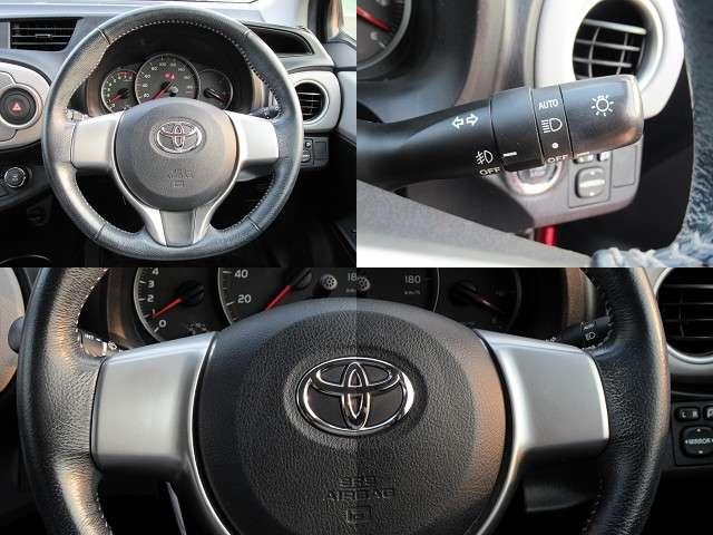 運転席、ステアリング周辺です!使いやすいスイッチ類と見やすいメーター類☆操作しやすいスッキリした運転席でドライブも安心快適です!