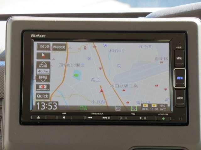 Gホンダセンシング 軽自動車 メモリーナビ フルセグTV L(12枚目)