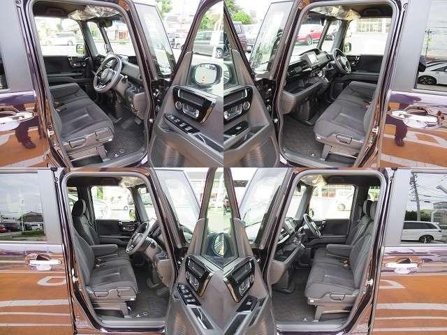 L 軽自動車 ホンダセンシング ギャザズメモリーナビ リアカメラ フルセグTV DVD再生 ミュージックサーバー USB充電  片側パワースライドドア LEDヘッドライト ワンオーナー車 ベンチシート(6枚目)