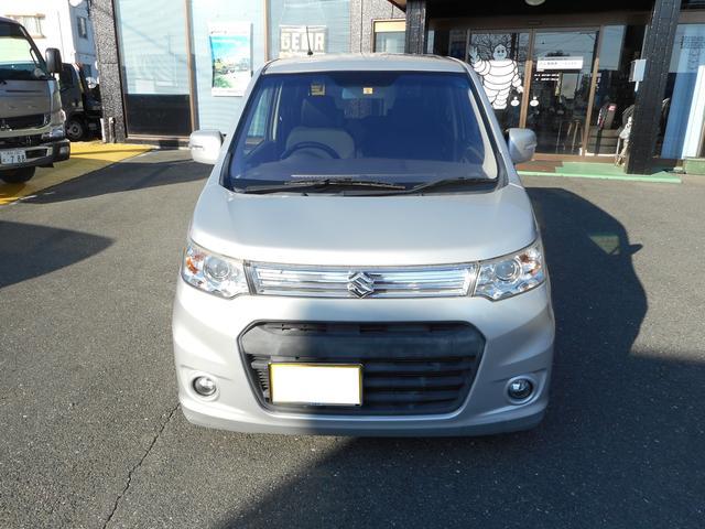 「スズキ」「ワゴンRスティングレー」「コンパクトカー」「静岡県」の中古車2