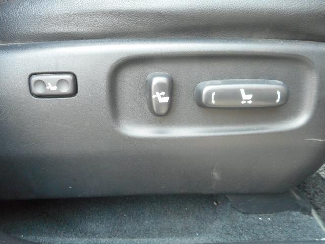 トヨタ ハリアー 240G Lパッケージ 純正ナビ レザー調シートカバー
