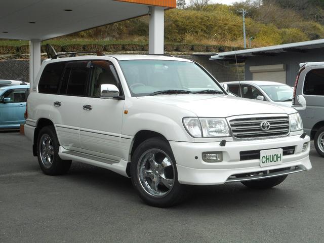 「トヨタ」「ランドクルーザー100」「SUV・クロカン」「静岡県」の中古車6
