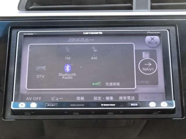 ホンダ フィットハイブリッド Fパッケージ ワンオーナー車 社外ナビ ETC車載器