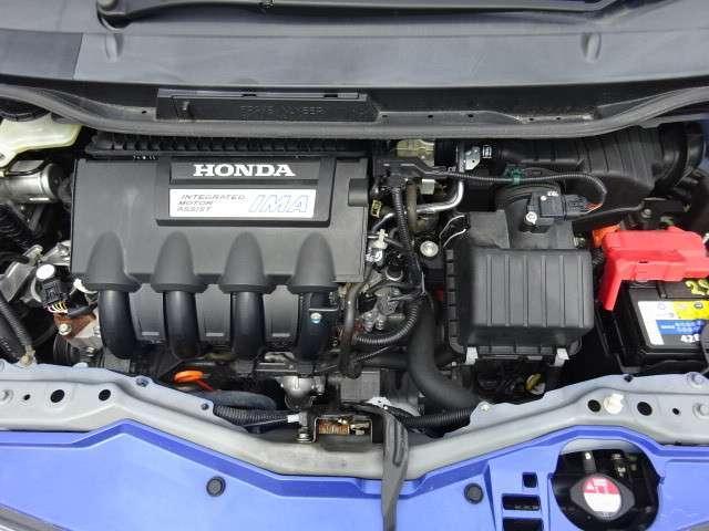 ホンダ フィットハイブリッド スマートセレクション ワンオーナー車 社外ナビ ETC車載器