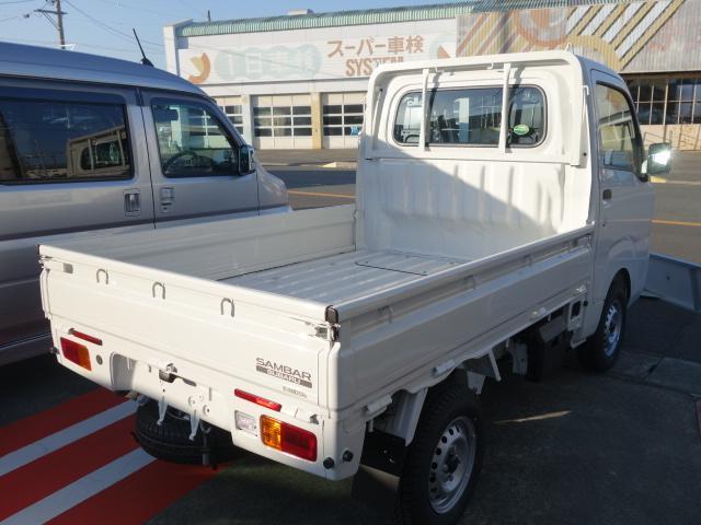 スバル サンバートラック TB 3方開 4AT 届出済未使用車