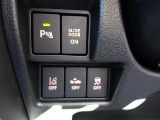 スズキ スペーシアカスタム ハイブリッドGS 片側電動 LEDヘッドライト