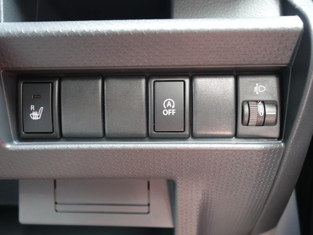 スズキ ハスラー G 5MT キーレス シートヒーター 届出済未使用車