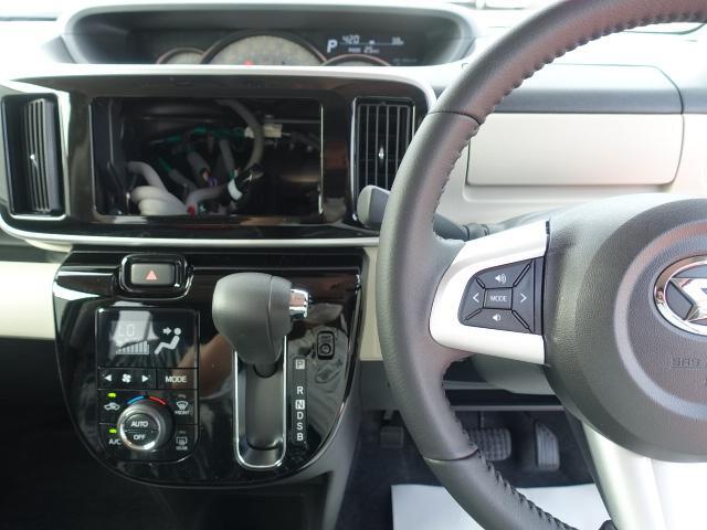 Gブラックアクセントリミテッド SAIII /衝突被害軽減ブレーキ/両側パワースライドドア/パノラマカメラ/LEDヘッドライト&フォグランプ/プッシュスタート/オートエアコン/ステアリングスイッチ/アイドリングストップ/届出済未使用車(14枚目)