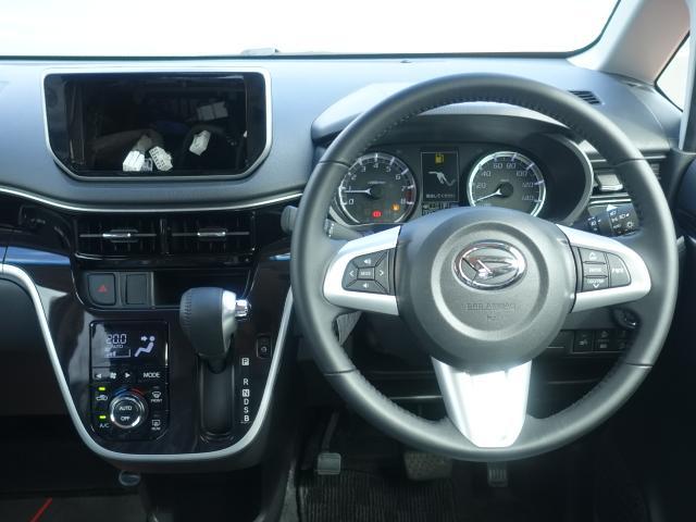 カスタム RS ハイパーリミテッドSAIII /ターボ/スマートキー/衝突被害軽減ブレーキ/アルミホイール/全方位カメラ/LEDヘッドライト/シートヒーター/ハーフレザーシート/ディーラー試乗車(9枚目)