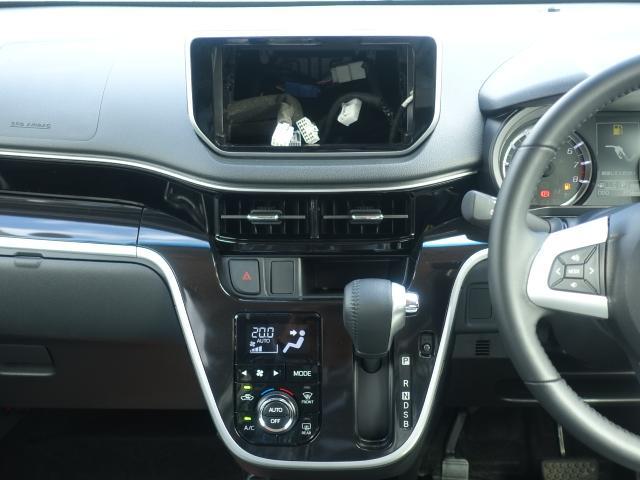 カスタム RS ハイパーリミテッドSAIII /ターボ/スマートキー/衝突被害軽減ブレーキ/アルミホイール/全方位カメラ/LEDヘッドライト/シートヒーター/ハーフレザーシート/ディーラー試乗車(10枚目)