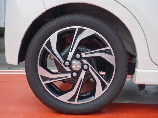 カスタム RS ハイパーリミテッドSAIII /ターボ/スマートキー/衝突被害軽減ブレーキ/アルミホイール/全方位カメラ/LEDヘッドライト/シートヒーター/ハーフレザーシート/ディーラー試乗車(14枚目)