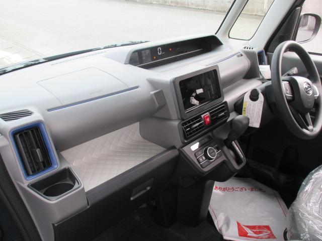 X /片側パワースライドドア/プッシュスタート/スマートキー/LEDヘッドライト/オートエアコン/衝突被害軽減ブレーキサポート/届出済未使用車(6枚目)