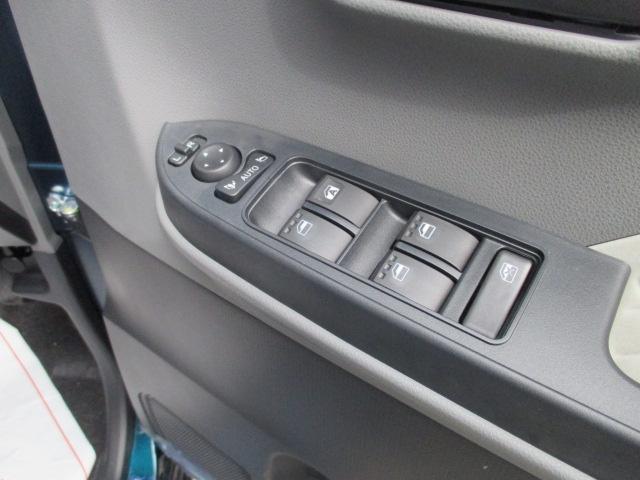 X /片側パワースライドドア/プッシュスタート/スマートキー/LEDヘッドライト/オートエアコン/衝突被害軽減ブレーキサポート/届出済未使用車(11枚目)