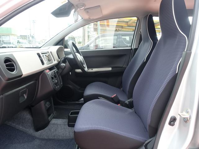 L /セーフティサポート/キーレス/シートヒーター/アイドリングストップ/オートライト/CVT/純正オーディオ/エアコン/パワステ/ABS/ディーラー試乗車(6枚目)
