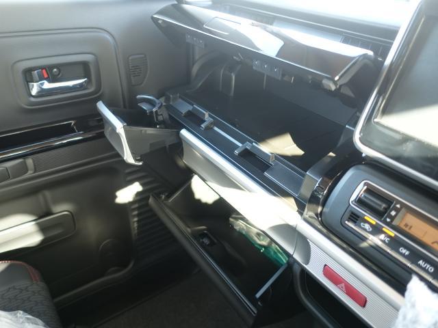 ハイブリッドXS /全方位/両側パワースライドドア/サーキューレター/LEDヘッドランプ&フォグランプ/ハーフレザー/オートエアコン/専用アルミホイール/プッシュスタート/衝突被害軽減ブレーキサポート/届出済未使用車(28枚目)
