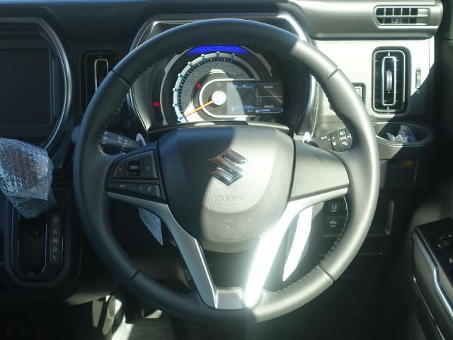 Jスタイル /LEDヘッドライト&フォグ/ボンネットエンブレム/ルーフレール/アルミホイール/衝突被害軽減ブレーキサポート/スマートキー/シートヒーター/オートエアコン/リモート格納ドアミラー/届出済未使用車(9枚目)