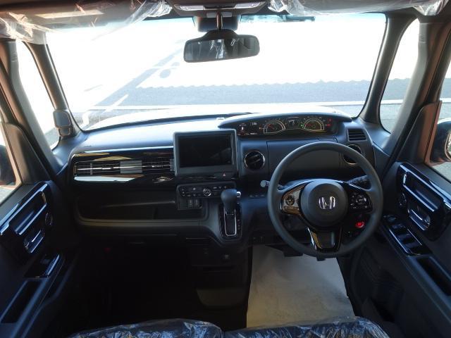 L /衝突被害軽減ブレーキ/スマートキー/電動スライドドア/バックカメラ/LEDヘッドライト/オートエアコン/クルーズコントロール/ステアリングスイッチ/プッシュスタート/充電用USB/届出済未使用(8枚目)