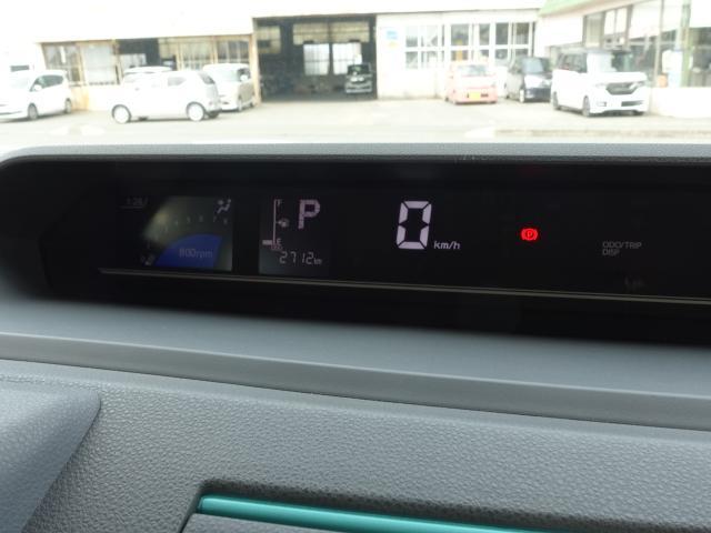 X /スマートパノラマパーキング/片側電装スライドドア/プッシュスタート/スマートキー/オートエアコン/パノラマカメラ/ステアリングリモコン/LEDヘッドライト/衝突被害軽減ブレーキ/ディーラー試乗車(26枚目)