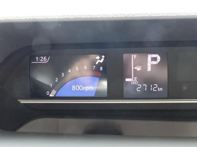 X /スマートパノラマパーキング/片側電装スライドドア/プッシュスタート/スマートキー/オートエアコン/パノラマカメラ/ステアリングリモコン/LEDヘッドライト/衝突被害軽減ブレーキ/ディーラー試乗車(27枚目)
