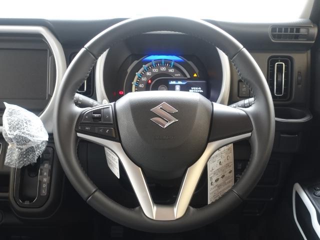 ハイブリッドX /LEDヘッドライト&フォグ/専用アルミホイール/衝突被害軽減ブレーキサポート/プッシュスタート/スマートキー/シートヒーター/オートエアコン/届出済未使用車(9枚目)