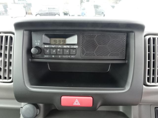 DX /5AGS/両側スライドドア/2速発進/スピーカー一体型ラジオデッキ/マニュアルエアコン/届出済未使用車(21枚目)