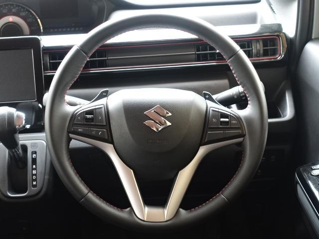 ハイブリッドT /ターボ/プッシュスタート/衝突被害軽減ブレーキ/LEDヘッド&フォグ/シートヒーター/オートライト/オートエアコン/革巻きハンドル/オートクルーズ/ディーラー試乗車(9枚目)